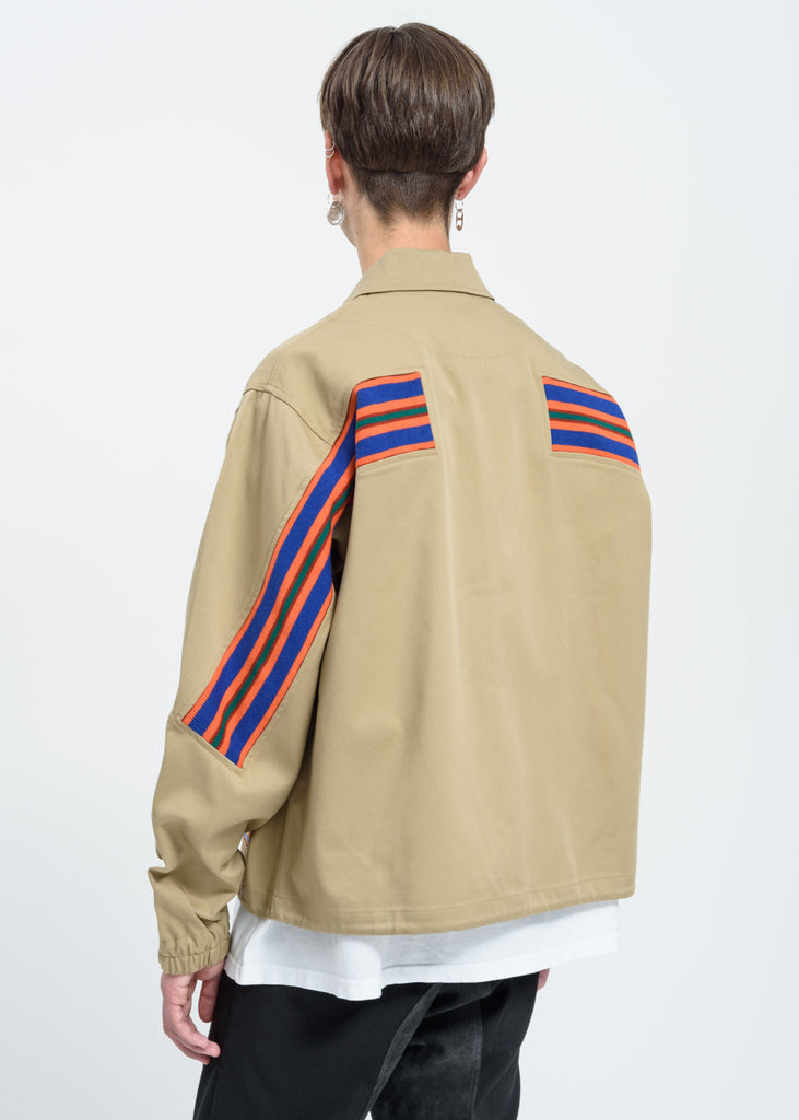 Beige Dickies Edition Logo Coach Jacket
