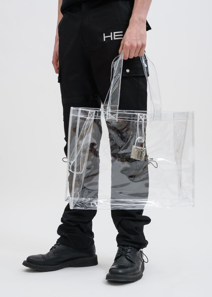 Transparent Bag with Lock