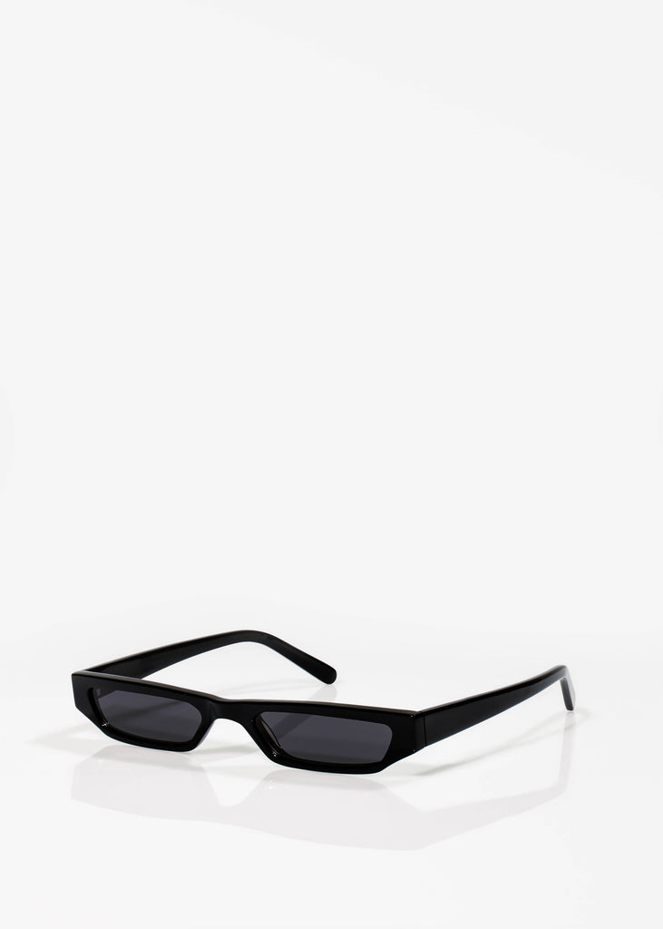 Jet Black Pris Sunglasses