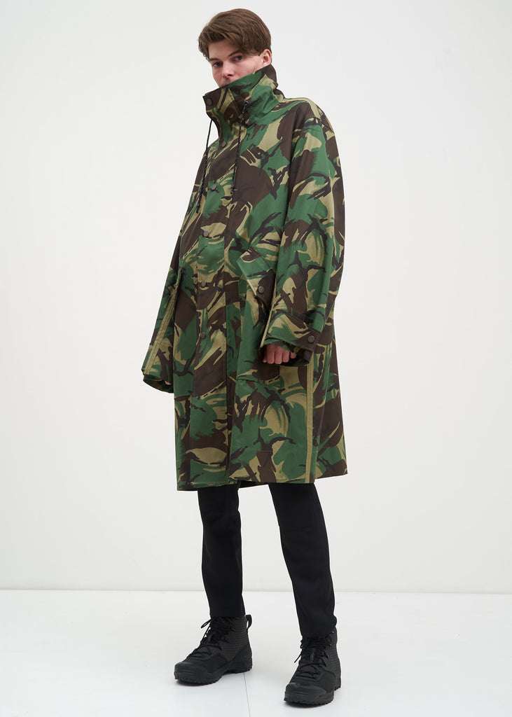 Camo Artem Long Car Coat