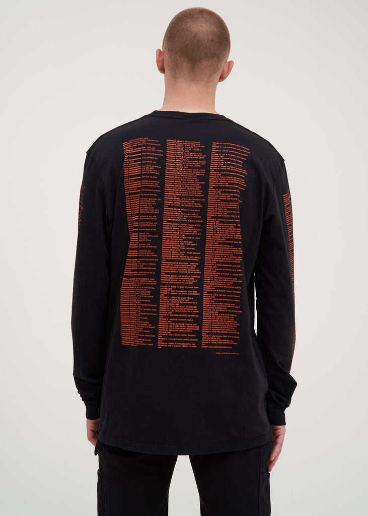 Black Reference 4.0 Long Sleeve T-Shirt