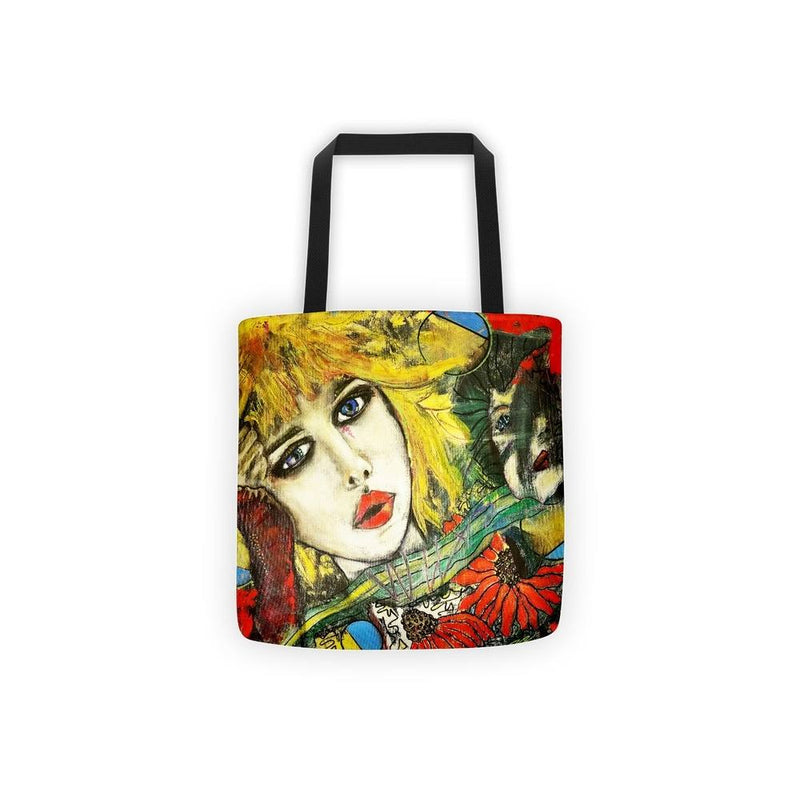 My Mother My Self | All Over Tote Bag - by Penelope Przekop and the Przekop Design Company