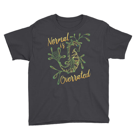 Uncharted Ink Youth Tee in Normal is Overrated