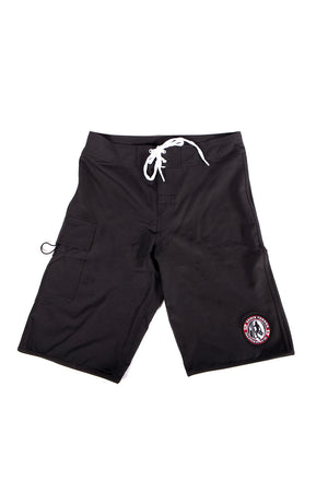 Eddie Vedder Seattle Surf Co Boardshorts Black
