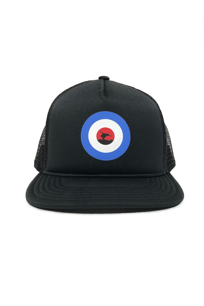 Eddie Vedder Mod Silo Trucker Hat Black