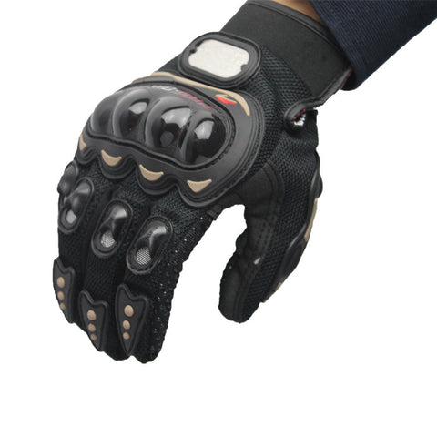Acetate & Microfiber Multi-Purpose Outdoor Full Finger Protection Gloves