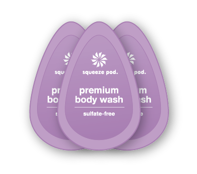 Travel Size Premium Body Wash