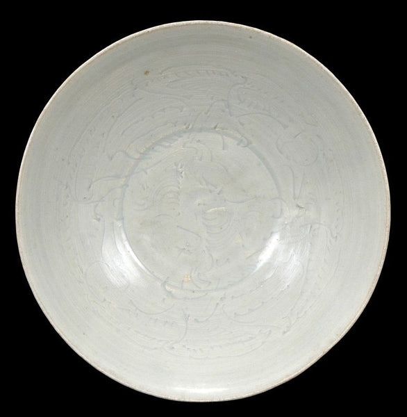Large Chinese Song Dynasty Qingbai Bowl , 1000 AD