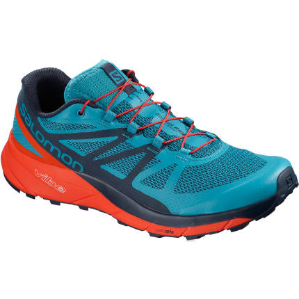 Salomon Sense Ride Men (Fjord Blue / Red)