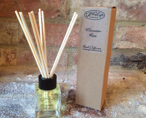 Reed Diffuser 50ml - Flowers - Moroccan Rose
