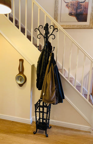 Wrought Iron Coat Stand