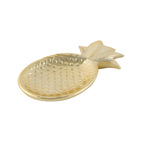 Gold Pineapple Trinket Dish - Sass & Belle