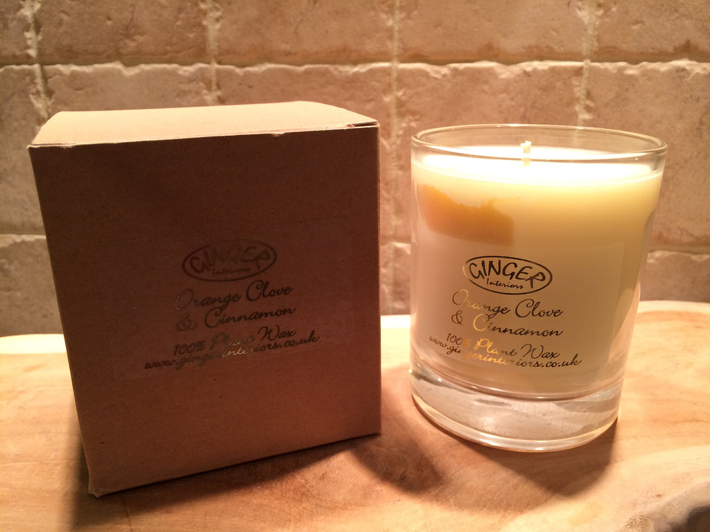 Scented Candle 30cl - Christmas - Orange Clove & Cinnamon