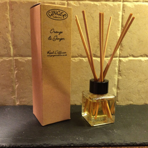 Reed Diffuser 50ml - Citrus - Orange and Ginger
