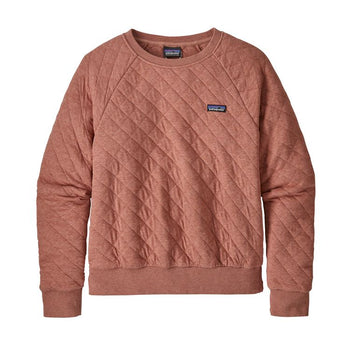 COTTON QUILTED CREW