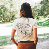 CALIFORNIA ALL PARKS MAP TEE