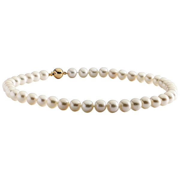Large White Pearl Necklace