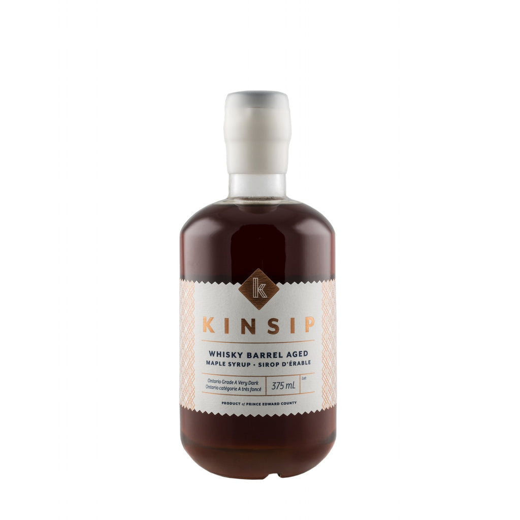 Kinsip Whiskey Barrel Aged Maple Syrup