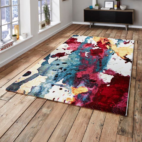 Think Rugs Sunrise Modern | Modern Multicoloured Rugs | 160cm x 220cm