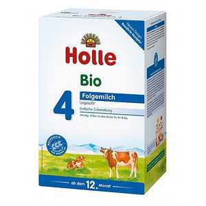 12 Boxes of Holle Stage 4 Organic (Bio) Toddler Milk Formula (600g)