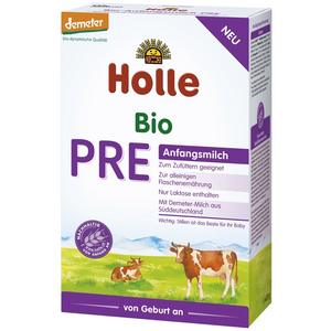 12 Boxes of Holle Stage PRE Organic (Bio) Infant Milk Formula (400g)