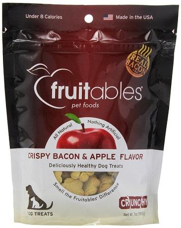 Fruitables Dog Treats Crispy Bacon & Apple Flavor for Dogs in Dubai