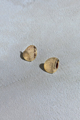 Swallow earrings gold