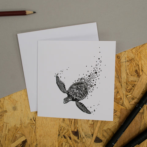 Turtle Greetings Card