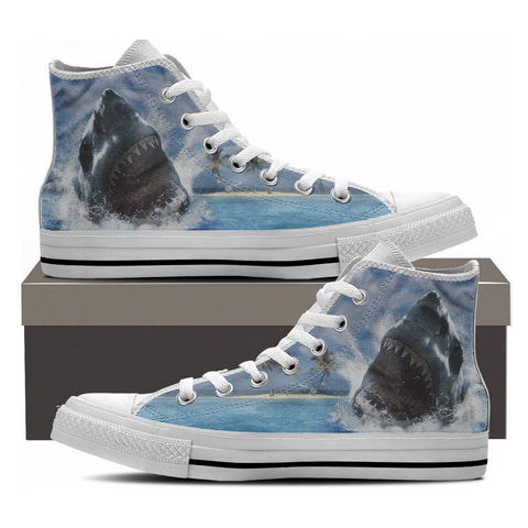 SHARK HIGHTOP SHOES