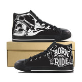 BORN TO RIDE CANVAS SHOES