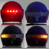Wireless LED Brake And Turn Light For Helmets