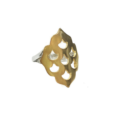 Screen Goddess Ring Gold luxe bohemian jewellery Australia