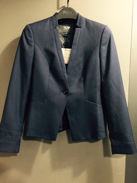 FBZ004 Women's Jacket, 1-Button with Shawl Lapel & Inverted Notch [ CLEAR STOCKS ]