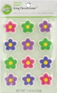 Icing Decorations - Dancing Daisies