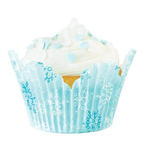 Snowy Day Tulip Standard Cupcake Liners