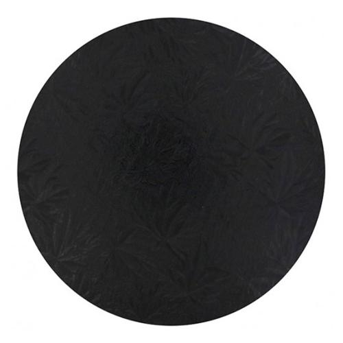 Round Black Cake Drum 1/2'' Thick