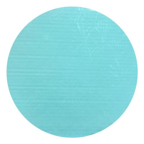 Round Baby Blue Cake Drum 1/2'' Thick