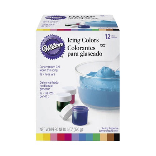 12 Icing Color Set