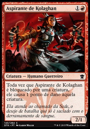 Aspirante de Kolaghan / Kolaghan Aspirant-Magic: The Gathering-MoxLand