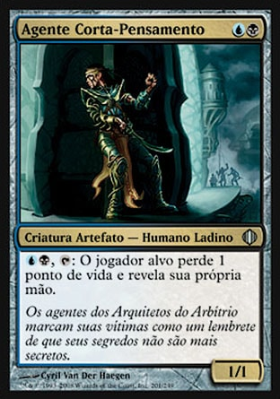 Agente Corta-Pensamento / Thoughtcutter Agent-Magic: The Gathering-MoxLand
