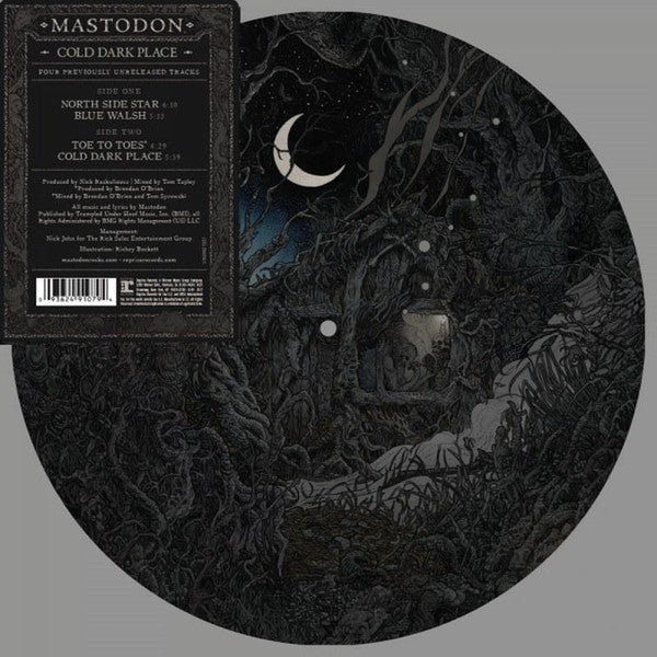 "Mastodon - Cold Dark Place 10"" Picture Disc EP"
