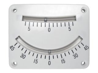 Clinometer Twin Scale - Clinometers - Soft plastic tube w/stainless steel balls