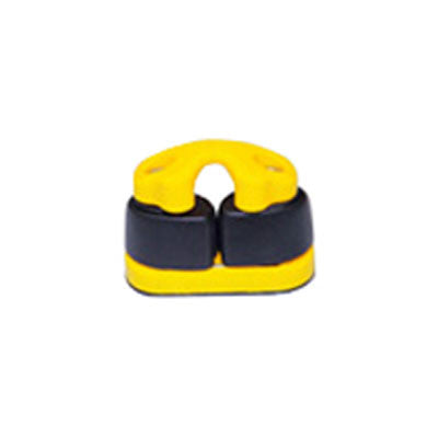 91026BY - SMALL  COMPOSITE  CAM CLEAT - YELLOW BASE
