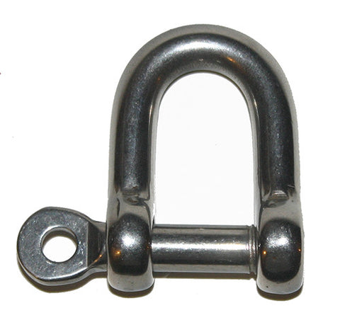 STRAIGHT SHACKLES - SCREW PIN WITH EYE . LOOSE PIN