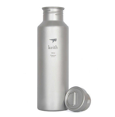 Keith Ti3032 Titanium Water Bottle Outdoor Sport Cycling Camping Hiking  700ml