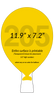 Balloon-Shaped-Numbered-Auction-Paddles-Hand-Fans-1-Piece-Plastic