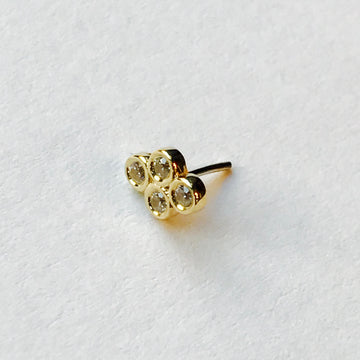 BVLA Pushpin Quadbezel Cluster End