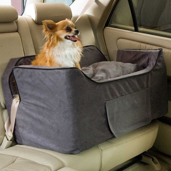 Snoozer Luxury Lookout II Dog Car Seat with Storage