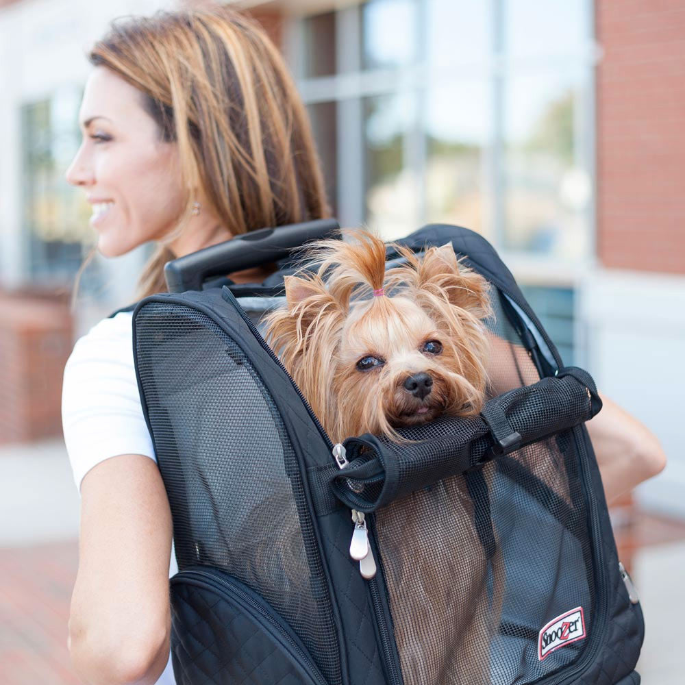 Snoozer Roll Around 4-in-1 Dog Travel Carrier