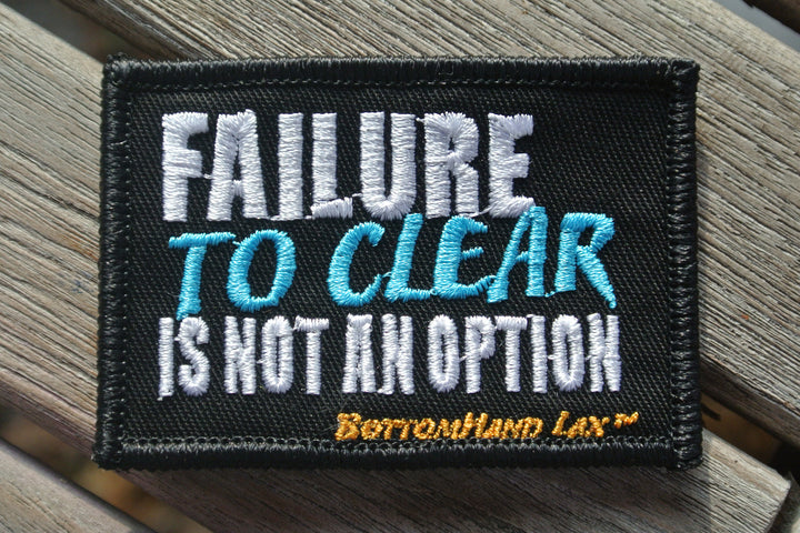 Failure [to clear] Is Not An Option Patch